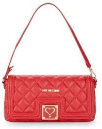 Love Moschino Quilted Heart Shoulder Bag