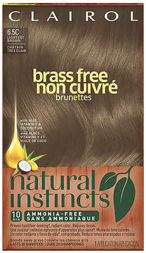 Clairol Natural Instincts Brass Free Semi-Permanent Hair Color