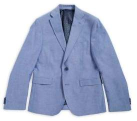 Michael Kors Boy's Notch Lapel Cotton Jacket
