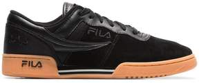 Fila Liam Hodges x black and brown Original Fitness suede sneakers