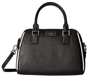 Kate Spade Prospect Place Small Pippa Satchel - BLACK - STYLE