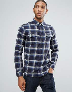 Blend of America Regular Fit Check Shirt