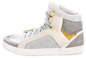 adidas by Stella McCartney Knit High-Top Sneakers