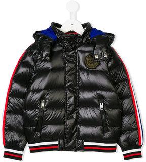 Diesel stripe detail padded jacket