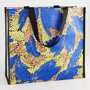 World Market African Wax Print Wide Tote Bag