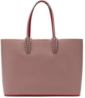 Christian Louboutin Cabata Spike Embellished Tote Bag - Womens - Light Pink
