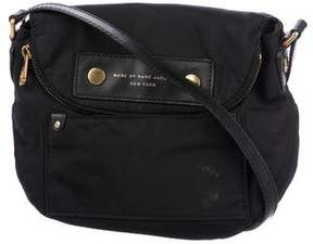 Marc by Marc Jacobs Leather-Trimmed Nylon Crossbody Bag