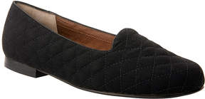 Ros Hommerson Black Microtouch Quilted Omara Loafer - Women