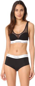 Calvin Klein Underwear Modern Cotton Push Up Bralette