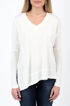 Articles of Society Ribbed Detail Top