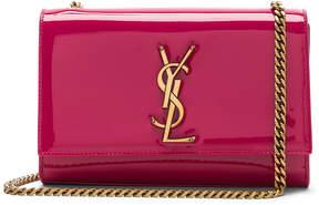 Saint Laurent Small Patent Monogramme Kate Chain Bag