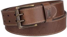 Levi's Men's Elevated Double-Prong Leather Belt