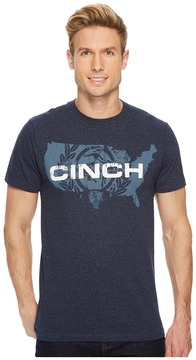 Cinch Basic Short Sleeve Tee Men's Clothing