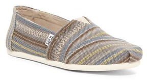 Toms Grey Cult Stripe Slip-On Shoe