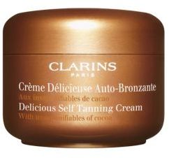 Clarins Delicious Self Tanning Cream/4.2 oz.