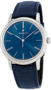 Zenith Elite Automatic Blue Dial Men's Watch