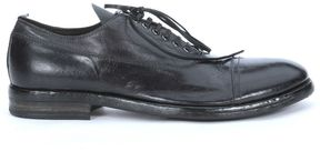 Moma Anthracite Lace Up Leather Shoes