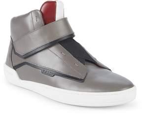 Bally Men's Erwan Leather High-Top Sneakers