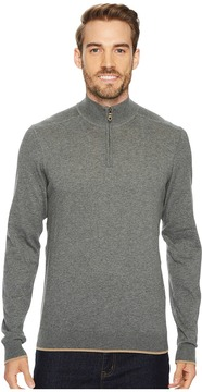 Agave Denim Latitude Long Sleeve 1/4 Zip 14GG Sweater Men's Long Sleeve Pullover