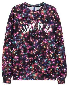 H&M Christmas-motif Sweatshirt