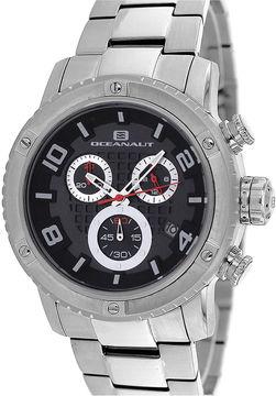 Oceanaut Mens Impulse Black Chronograph Watch