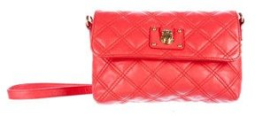 Marc Jacobs Quilted Leather Crossbody Bag - BLACK - STYLE