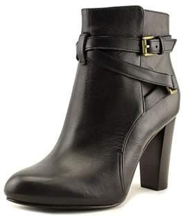Lauren Ralph Lauren Vianca Round Toe Suede Ankle Boot.
