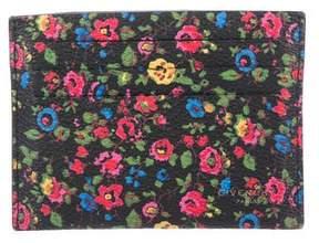 Givenchy Floral Print Cardholder