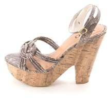 XOXO Women's Elle Wedged Sandals.