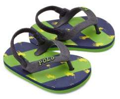 Ralph Lauren Baby's Amino Stripe Thong Sandals