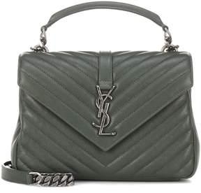 Saint Laurent Medium Collège Monogram leather shoulder bag