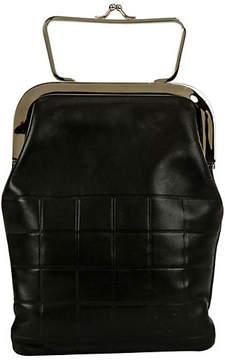 One Kings Lane Vintage Chanel Black Evening Bag with Frame