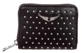 Zadig & Voltaire Studded Compact Wallet