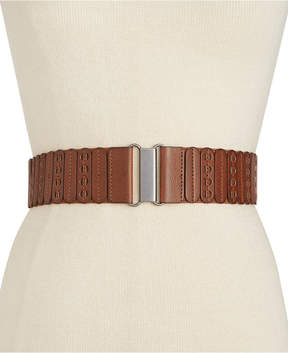 INC International Concepts I.n.c. Casual Panel Stretch Belt, Created for Macy's