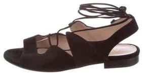 Aperlaï Suede Gladiator Sandals