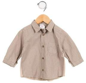 Catimini Boys' Striped Button-Up Shirt