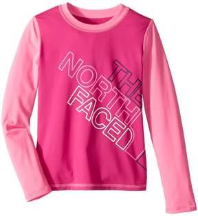 The North Face Kids Long Sleeve Amphibious Tee Girl's T Shirt