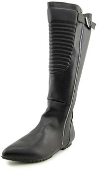 Penny Loves Kenny Strike Women Pointed Toe Synthetic Knee High Boot.