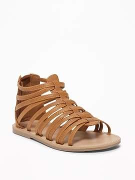 Old Navy Gladiator Sandals for Toddler Girls