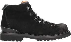 Buttero Black Suede Mountain Combat Boots