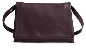 Shinola Leather Convertible Shoulder Bag - Purple