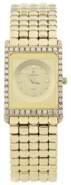 Concord Delirium 51-50.90.668DM 18K Yellow Gold Quartz 20mm Womens Watch