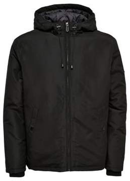 ONLY & SONS Hooded Zip-Front Jacket