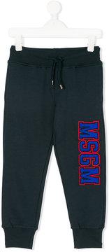 MSGM logo jogging trousers