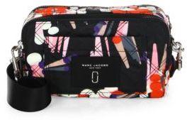Marc Jacobs Geo Spot-Print Knot Camera Bag - BLACK MULTI - STYLE