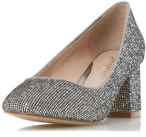 Head Over Heels *Head Over Heels By Dune 'Agnitha' Pewter Mid Heel Shoes