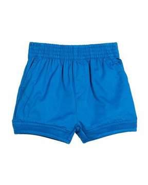 Stella McCartney Mara Woven Shorts w/ Rib Trim, Size 12-36 Months