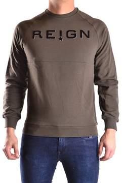 Reign Men's Green Cotton Sweatshirt.