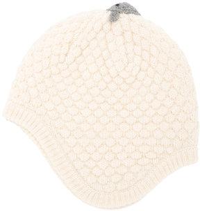 Familiar sheep knit beanie
