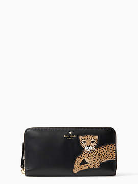 Kate Spade Run wild leopard applique lacey